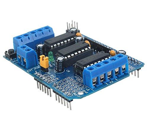 niceeshop(TM) Carte d'extension L293D Moteur Entraînement Shield pour Arduino Duemilanove Mega UNO R3 AVR ATMEL
