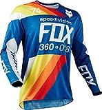 Fox Jersey 360 Draftr, Blue, Größe M