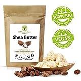 Grüne Valerie - Ivory Shea Butter - Kaltgepresst (Grad A+) pur & rein 250 g - Bio, organisch,frisch, unraffiniert - Das Beste veganeHautpflegeprodukt aus dem fairen Handel