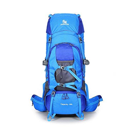 UR MAX BEAUTY Jinshiwo 80L Wanderrucksack Trekking Bag Outdoor Sport Daypack Für Klettern Bergsteigen Angeln Reisen Radfahren