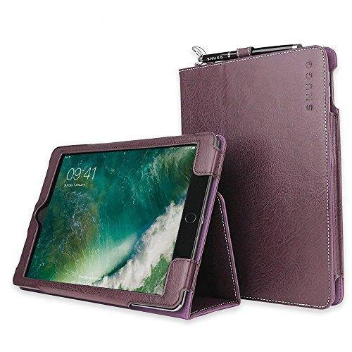 Snugg iPad Air 2 Hülle (Amethystviolette Smart Case Sleep/Wake Funktion