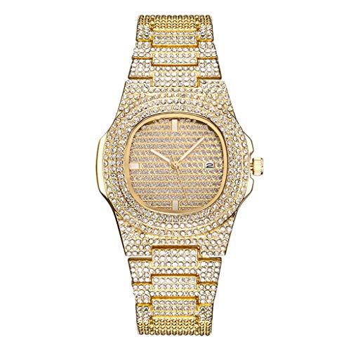 Uhren Unisex Armbanduhr Watches Leder Stainless Herren Damen Stehlen Analog Quartz Wrist Watch Luxus Uhrenarmband Exquisit uhr ABsoar Titan Wellington