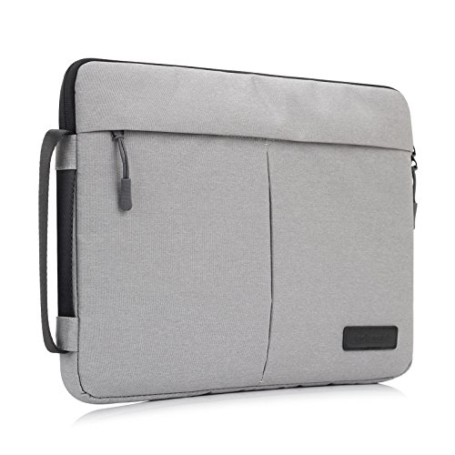 11.6 Zoll Laptop Sleeve Ultrabooks Hülle Tasche Multifunktionale Aktentasche mit Vordertaschen Leichte Nylon Laptophülle Schutzhülle für Laptop/Notebook/Macbook/Ultrabooks/Dell Tasche