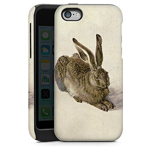 Apple iPhone 4 Housse Étui Silicone Coque Protection Lapin Lapin Levraut Cas Tough brillant