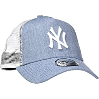 New York Yankees New Era MLB Heather Trucker Cap