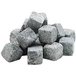 Specksteine, Specksteinwürfel für Sauna-Aufgusssteine für bessere und unvergessliche Aufgusserlebnisse in Sauna