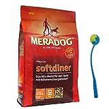 MERA Dog 12,5 kg Softdiner Premium Hundefutter erwachsene Hunde + Ballschleuder