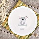 Teller Kinderteller Melaminteller Kunststoffteller Dreamchen Maus