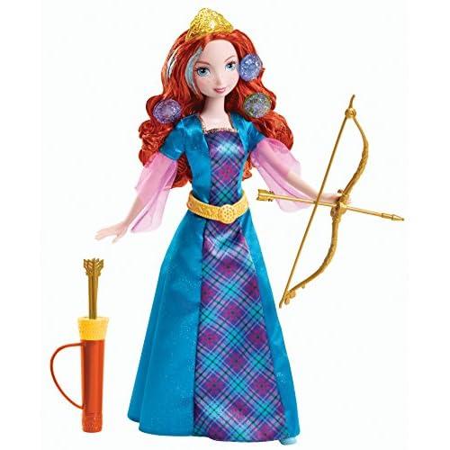 Disney Princesas Mérida rizos de Color (Mattel Y8214) 11
