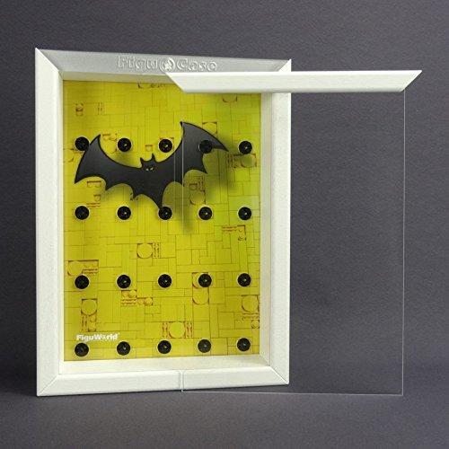 Preisvergleich Produktbild FiguCase Click System Vitrine für eure LEGO® Serie Batman 71017 weiß