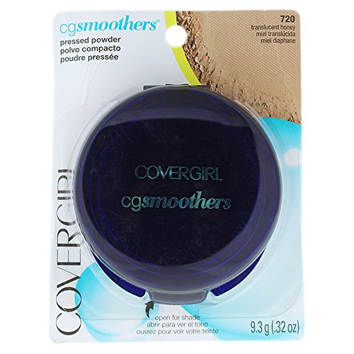 CoverGirl Smoothers Pressed Powder Foundation Translucent, Honey(N)720, 0.32-Ounce Packages by COVERGIRL (Pressed Powder-cover-girl)
