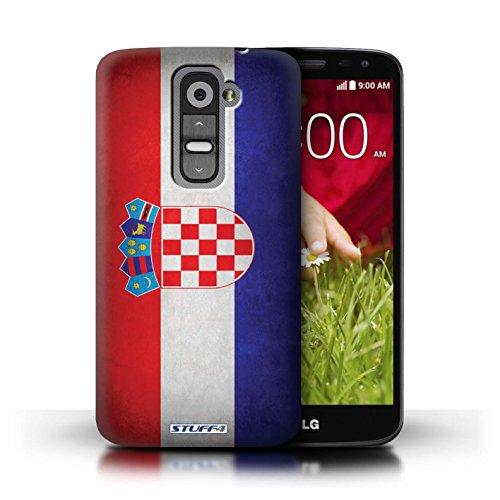 Kobalt® Imprimé Etui / Coque pour LG G2 Mini/D620 / Irlande/irlandais conception / Série Drapeau Croatie