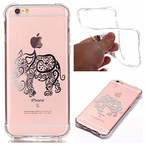 inShang iPhone 6 Plus Coque 6S Plus Housse de Protection Etui 4,7 inch [Transparent Coque d'iPhone] [bronzante technologie 3D image], Ultra mince et léger Case Cover de protection pour iPhone 6 Plus / 03