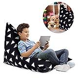 gaeruite Pouf Pouf–Indoor and Outdoor mémoire en peluche jouet peluche sitzsac Enfant Gamer Lounge Coussin Pouf coussin de siège pour fauteuil Sac de rangement