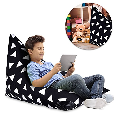 Kindersitzsack - Toy Storage Bean Bag Cover - Sofa Stuhl Cosy Cartoon Tatami Tuch Organizer - Weiche...