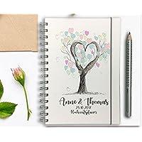 Hochzeitsplaner - Hochzeitscheckliste - Wedding planer PERSONALISIERT Tree of Love