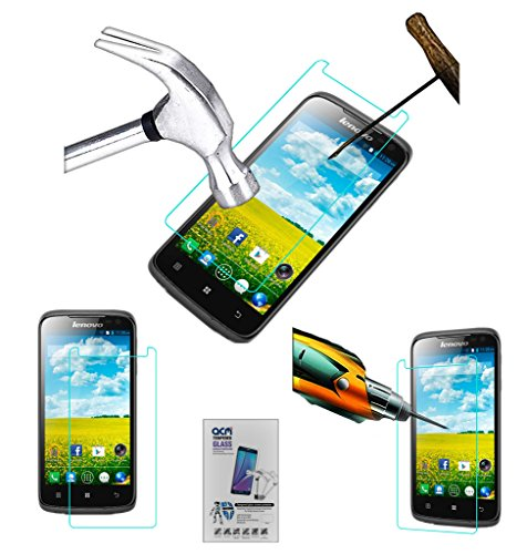 Acm Tempered Glass Screenguard for Lenovo S820 Screen Guard Scratch Protector  available at amazon for Rs.179