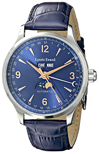 Mens Louis Erard 1931 Moonphase Annual Calendar Exclusive Automatic Watch 31218AA15.BDC37