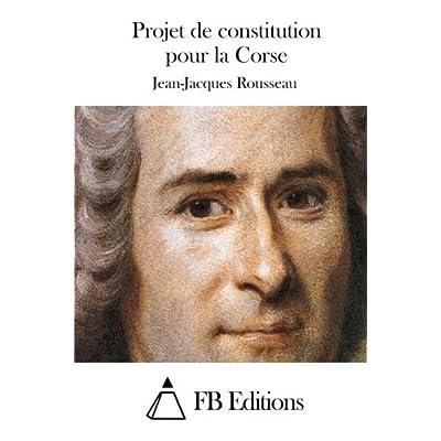 Projet de constitution pour la Corse