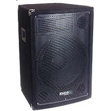 Ibiza Sound DISCO12B 300W Negro altavoz - Altavoces (De 3 vías, Alámbrico, Terminal, 300 W, 40 - 20000 Hz, Negro)