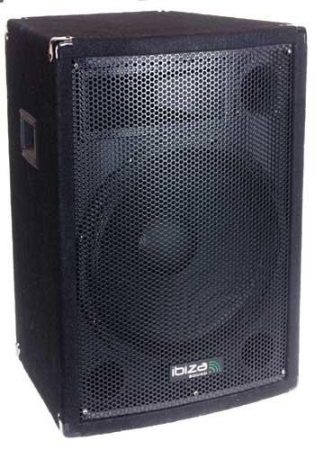 Ibiza Sound DISCO12B - Bafle sonido trapezoidal