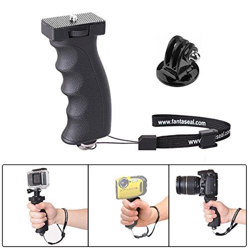 Fantaseal® Unterwasser Kamera Handgriff Kamera Handheld Wasserdicht Kamera Universal Ergonomic Action Kamera Grip Video Lampe Grip Handle Underwater Camera Handstativ Hand Griff für Nikon COOLPIX AW120 AW130 Casio EXILIM EX-FR100 EX-FR200 Fujifilm FinePix XP80 XP85 XP90 Olympus Tough TG-4 TG-5 TG-860 TG-870 TG-820 TG-830 TG-Tracker Stylus TG-1 TG-2 TG-3 Panasonic DMC-TS5 DMC-TS6 DMC-TS25 DMC-TS30 Fisher-Price Ion Air Contour Kodak Pentax Wasserdicht Kamera + GoPro Stil Action Kamera, Handgriff