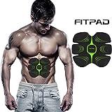Appareil Fitness, FITPAD Appareil abdominaux Electrostimulateur Muscle Homme Paresseux Exercices Automatiques Individuation Invisible ABS CR8 Machine