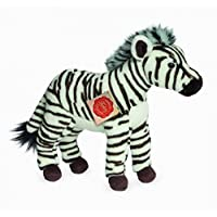 Plush Soft Toy Zebra Standing by Teddy Hermann. 26cm. 90279