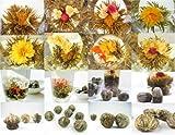Fix Lot de 20Naturel la main de floraison Thé Blooming Fleur Thé Balles de santé Superbe aléatoire