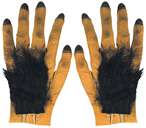 WIDMANN vd-wdm2711K Paar Hände Riesen Hairy Vampir, Mehrfarbig, Einheitsgröße