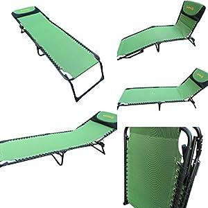 """""""Amaze"""" Folding Compact Light Weight Portable Outdoor Beach Garden Farm house Sun bed Lounger Chair cum Bed"""