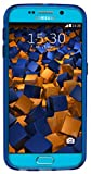 mumbi Schutzhülle Samsung Galaxy S6 / S6 Duos Hülle transparent blau (Slim – 1.2 mm) - 6
