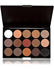 Baonoop 15 colores Mujer CosméticoS Maquillaje Desnudos neutros Sombra de ojos calient Paleta