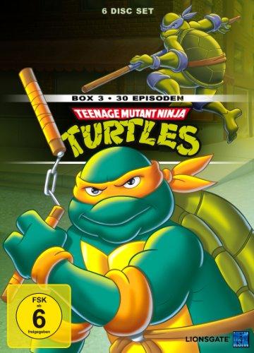 Teenage Mutant Ninja Turtles - Box 3 [6 DVDs]