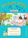 Deutsch-Stars - Allgemeine Ausgabe: 1. Schuljahr - Lesetraining: Übungsheft. Mit Lösungen