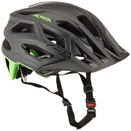 Alpina Radhelm Garbanzo, Schwarz/Green, 53-57, 9700132