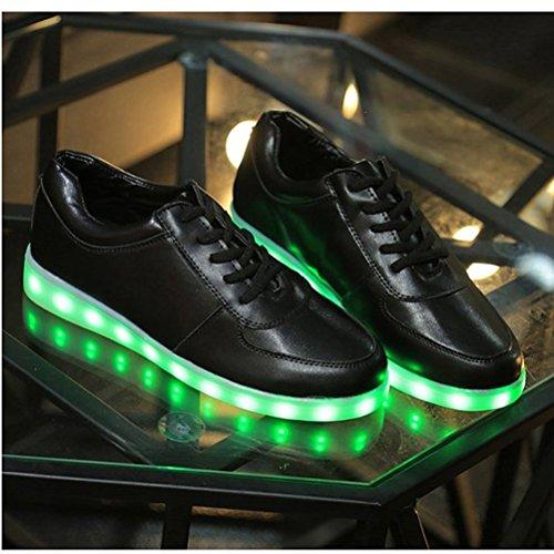 und Frauen koreanischen USB Kleines emittierende sieb Schuhe Die LED Lade neuen Leucht M盲nner leuchtet Lampe Handtuch c16 Schuhe Licht Schuhe wv8qPAwRn
