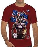 Stylotex Slimfit Fashion T-Shirt So sehn Sieger aus Guy Island Iceland, Farbe:rot;Größe:XL