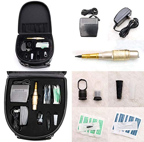 änger Tattoo Komplette Tattoo Kits Professioneller Tattoo Stift,E ()