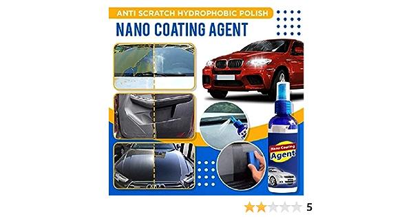 Anti Scratch Hydrophobic Polish Nano Coating Agent Improve Glass Clarity Fog Free And Increase Car S Shine Give A Premium Nano Car Wipe 100ml Large Auto