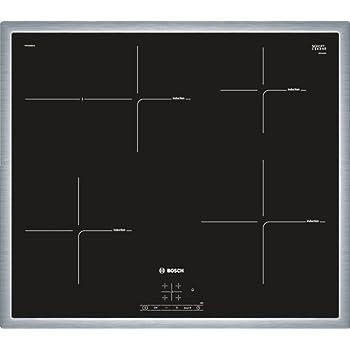 Bosch PIF645BB1E Serie 4 Induktions-Kochfeld, Elektro / Einbau / 58,3 cm / Glaskeramik