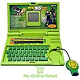 Ben 10 English Learner Laptop - 20 Activities (Green) - My Online Retail