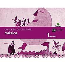 Quadern música. 1 Primària. Saba - 9788467571097