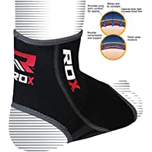 RDX Knöchelbandage MMA Knöchelschutz Fußbandage Kickboxen Fußgelenkbandagen Knöchelschoner (Das Paket Enthält Einzelstück)