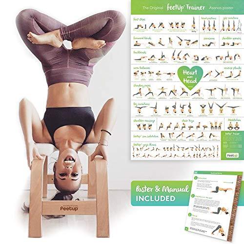 FeetUp® Original Kopfstandhocker, Kopfstand-Yogastuhl. Einfach Ins Kopfüber.