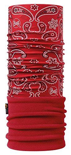 Buff Polar Cashmere RED/Samba rot -