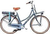 28 Zoll Damen Elektro Holland Fahrrad 3 Gang Hoopfietsen Altec Kratos, Farbe:blau