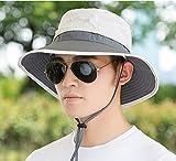 TAGVO Sombreros de ala ancha para el sol, Sombreros de pescador Sombrero de lona...