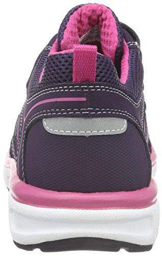 Superfit Lumis, Baskets Basses Fille Violett (TULIP 53)