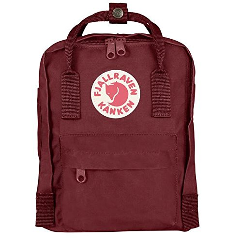 Fjallraven Kids Kanken Mini Backpack - Ox Red, 29 x 20 x 13 cm  9aea864130